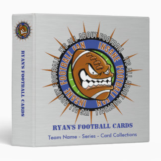 Custom Football Card Binder