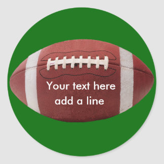 Custom Football Stickers