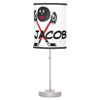 Custom For The Love of Hockey Table Lamps