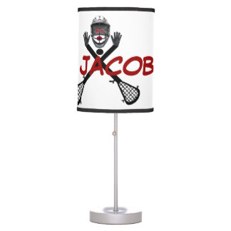 Custom For The Love of Lacrosse Table Lamp