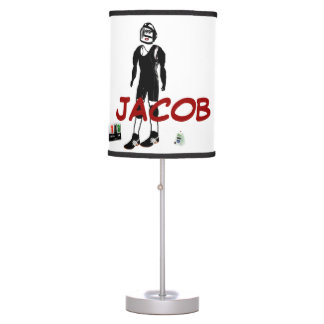 Custom For The Love of Wrestling Table Lamp