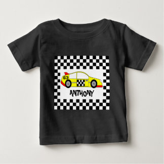 Custom formula one baby T-Shirt