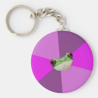 Custom Foul Bachelorette Frog Keychain