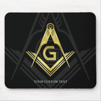 Custom Freemason Gift Ideas | Personalized Masonic Mouse Pad