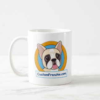Custom Frenchie Logo Mug