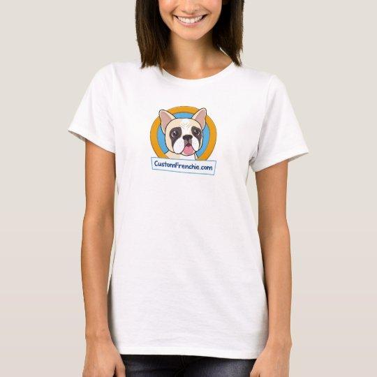 Custom Frenchie Logo Women's T-Shirt