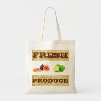 Custom Fresh Produce Fruit tote bag