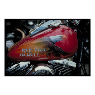 Custom fuel tank South Dakota Poster