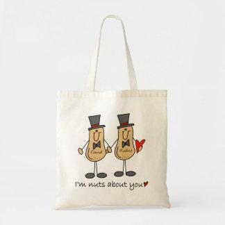 Custom Funny Gay Wedding Tote Bag