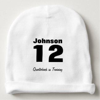 Custom Future Athlete Baby Cotton Beanie Baby Beanie