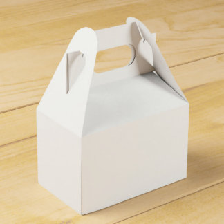 Custom Gable Favour Box