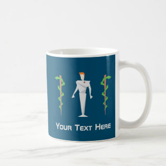 Custom Geometric Medicine Coffee Mug