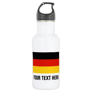 Custom German flag water bottles for Germany