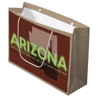Custom Gift Bag - Large, Glossy ARIZONA SPIRIT