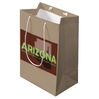 Custom Gift Bag - Medium, Matte ARIZONA SPIRIT