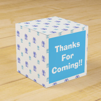 Custom Gift Box Favor Party Favor Boxes