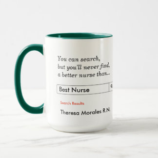 Custom Gift for Nurses Mug