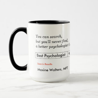 Custom Gift for Psychologists Mug