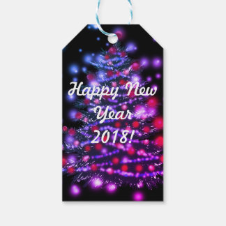 Custom Gift Tags Happy New Year 2018