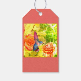 Custom Gift Tags MATTE GIFT TAG HUMMINGBIRD