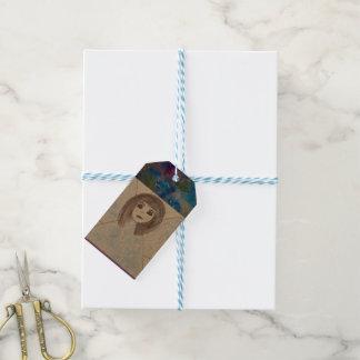 Custom gift tags with angel