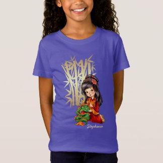 Custom Girl's Name Chinese New Year Gift T-Shirts