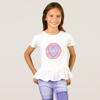 Custom Girl's Ruffle Shirt