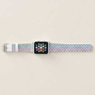 Custom Glitter Mermaid Scales Apple Watch Band