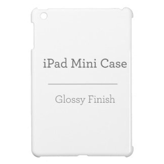 Custom Glossy iPad Mini Case