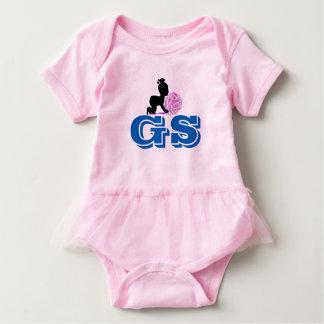 Custom Goal Shooter Netball Player Position Baby Bodysuit