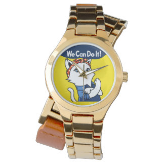 Custom Gold Wrap-Around Watch
