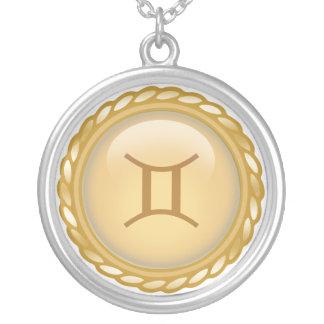 Custom Gold Zodiac necklace