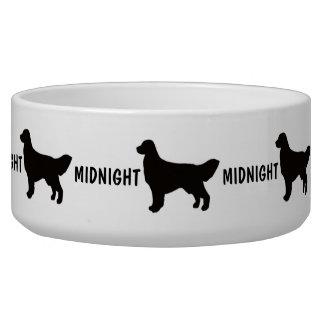 Custom Golden Retriever Dog Bowl