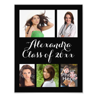 Custom Graduation Photo Collage