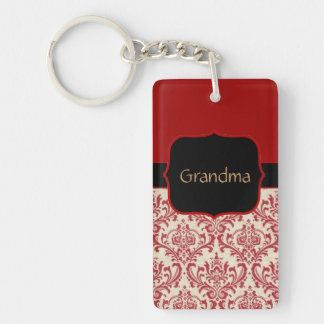 Custom Grandma's Photo Keychain Template