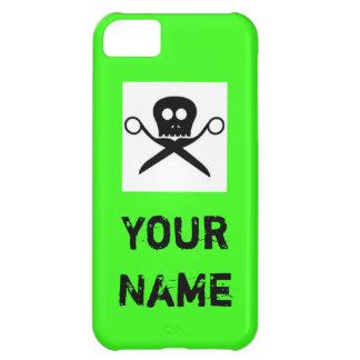 Custom Green Iphone Case Hair Stylist