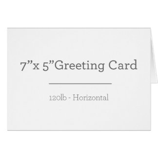 Custom Greeting Card