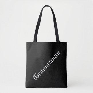 Custom Groomsman Tote Bag