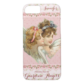 Custom Guardian Angels Pretty Pink iPhone 8/7 Case