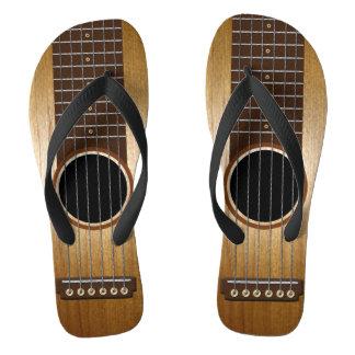 Custom Guitar Flip Flops
