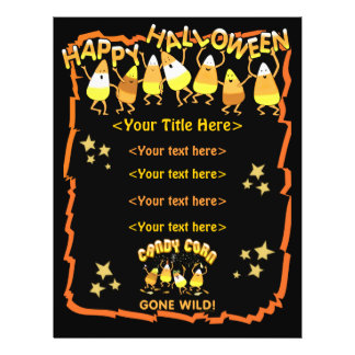 Custom Halloween Business or Personal Flyer