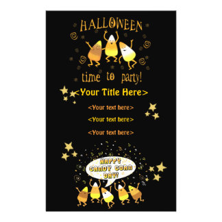 Custom Halloween Business or Personal Full Color Flyer