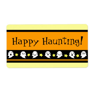 Custom Halloween Treat Bag Labels
