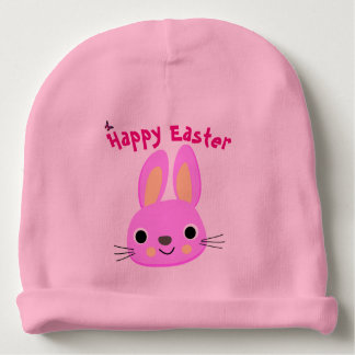 Custom Happy Easter Cotton Baby Beanie