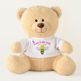 Custom Happy Easter Plush Teddy Bear
