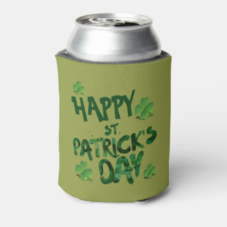 Custom Happy Saint Patrick's Day Can Cooler