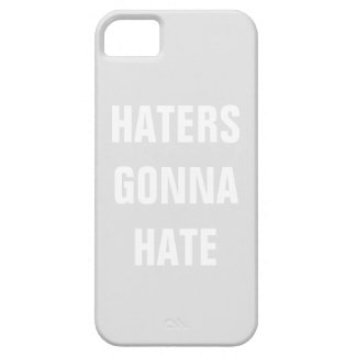 Custom Haters Gonna Hate iphone case iPhone 5 Covers