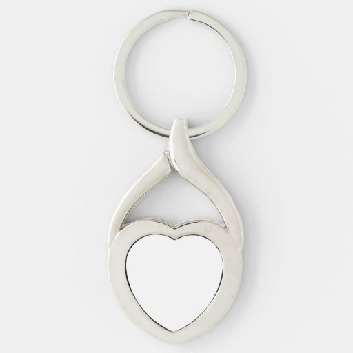 Custom Heart Keychain