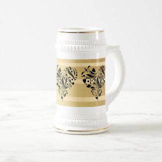 Custom Hearts 15 oz Ringer Coffee Mug ZAZZ_IT