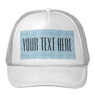 Custom Hearts Love Baby Shower Birthday Gift Hat
